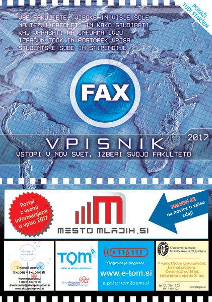 B Fax Vpisnik